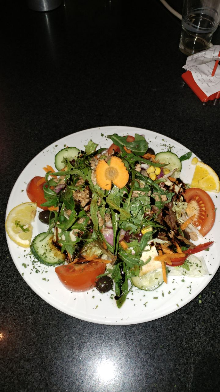 Ein Salat von Milano